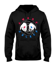 Red or Blue Pill T Shirt truther Hooded Sweatshirt thumbnail