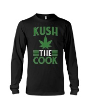 Kush The Cook  Marijuana Cannabis Grillin Long Sleeve Tee thumbnail