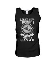I Just Need To Paddle a Kayak Fun Unisex Tank thumbnail