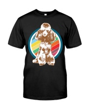 Poodle Retro Style T-Shirt Gift Idea 6 Premium Fit Mens Tee thumbnail