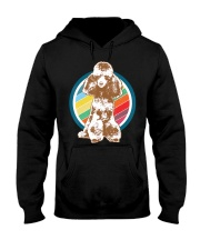 Poodle Retro Style T-Shirt Gift Idea 6 Hooded Sweatshirt thumbnail