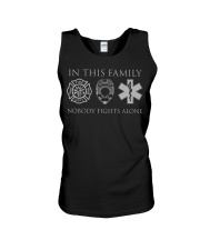 Police EMS and Firefighter Fa Unisex Tank thumbnail