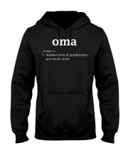Oma Definition Funny Dutch Grandma Mother D Hooded Sweatshirt thumbnail