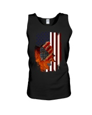 Poodle USA Flag 4th Of July Veterans Dog Unisex Tank thumbnail