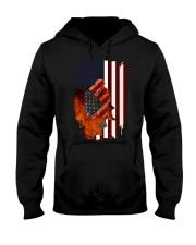 Poodle USA Flag 4th Of July Veterans Dog Hooded Sweatshirt thumbnail