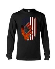 Poodle USA Flag 4th Of July Veterans Dog Long Sleeve Tee thumbnail