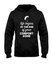Life Begins - Funny Aviati Hooded Sweatshirt thumbnail