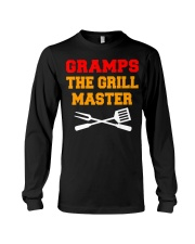 Mens Gramps The Grill Master Grilling and Long Sleeve Tee thumbnail