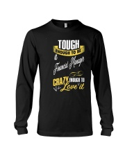 financial Manager T-shirt for financial a Long Sleeve Tee thumbnail