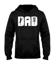 Mens Funny Disc Golf Dad Fathers Day Gift  Hooded Sweatshirt thumbnail