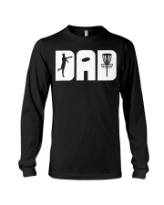 Mens Funny Disc Golf Dad Fathers Day Gift  Long Sleeve Tee thumbnail