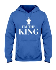 I Am The King Chess Pieces - Nati Hooded Sweatshirt front