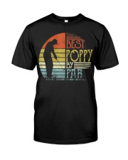 Mens Best Poppy By Par Father's Day Gifts Classic T-Shirt front