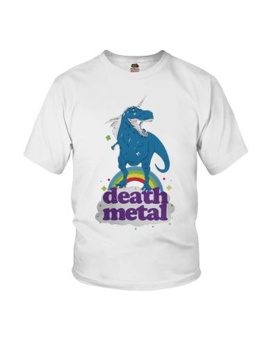 Unicorn T-rex death metal