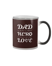 Dad First a Son's Hero a Daughter's first Love Color Changing Mug thumbnail