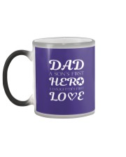 Dad First a Son's Hero a Daughter's first Love Color Changing Mug color-changing-left