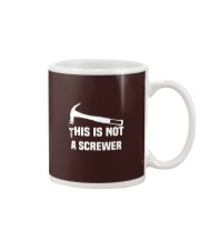 This is Not A Screwer Sarcastic and novelty Funny Mug thumbnail