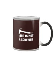 This is Not A Screwer Sarcastic and novelty Funny Color Changing Mug thumbnail