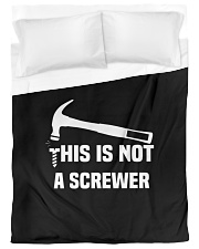 This is Not A Screwer Sarcastic and novelty Funny Duvet Cover - Twin XL thumbnail