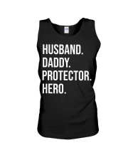 Daddy Husband Protector Hero Unisex Tank thumbnail