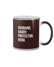 Daddy Husband Protector Hero Color Changing Mug thumbnail