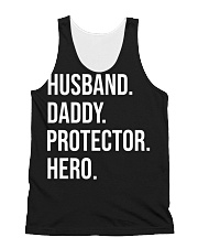 Daddy Husband Protector Hero All-over Unisex Tank thumbnail