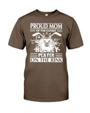 Hockey Pround Mom Classic T-Shirt thumbnail