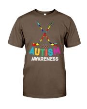 Autism Awareness Hockey Classic T-Shirt thumbnail