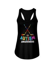 Autism Awareness Hockey Ladies Flowy Tank thumbnail