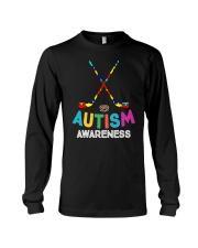 Autism Awareness Hockey Long Sleeve Tee thumbnail