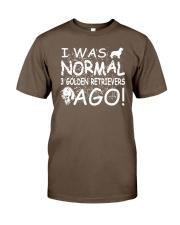 3 Golden Retrievers Ago Classic T-Shirt thumbnail
