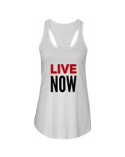 Live Now Inspire Lifestyle Ladies Flowy Tank front