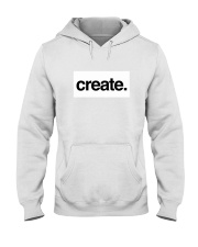 Create Inspire Lifestyle White Hooded Sweatshirt thumbnail
