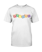 Autism Awareness Day Classic T-Shirt front