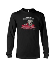 Wrestling to be the best you ve gotta be a beast Long Sleeve Tee thumbnail