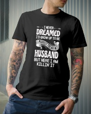 Perfect freakin husband Classic T-Shirt lifestyle-mens-crewneck-front-6
