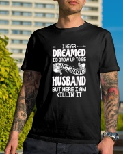 Perfect freakin husband Classic T-Shirt lifestyle-mens-crewneck-front-8