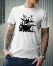 Drummer hobbies Classic T-Shirt lifestyle-mens-crewneck-front-6