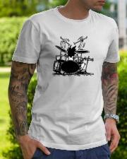 Drummer hobbies Classic T-Shirt lifestyle-mens-crewneck-front-7