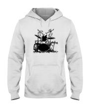 Drummer hobbies Hooded Sweatshirt thumbnail