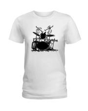 Drummer hobbies Ladies T-Shirt thumbnail