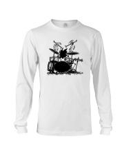 Drummer hobbies Long Sleeve Tee thumbnail
