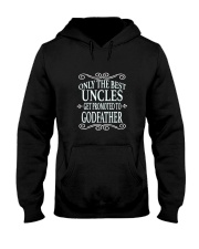 Only the best uncles get promoted to godfather Hooded Sweatshirt thumbnail