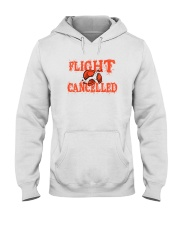 Flight cancelled Hooded Sweatshirt thumbnail