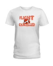Flight cancelled Ladies T-Shirt thumbnail