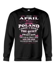 LOVE-POLAND-AND-APRIL Crewneck Sweatshirt thumbnail