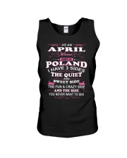 LOVE-POLAND-AND-APRIL Unisex Tank thumbnail