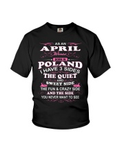 LOVE-POLAND-AND-APRIL Youth T-Shirt thumbnail