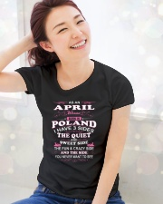 LOVE-POLAND-AND-APRIL Premium Fit Ladies Tee lifestyle-holiday-womenscrewneck-front-1