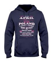 LOVE-POLAND-AND-APRIL Hooded Sweatshirt thumbnail